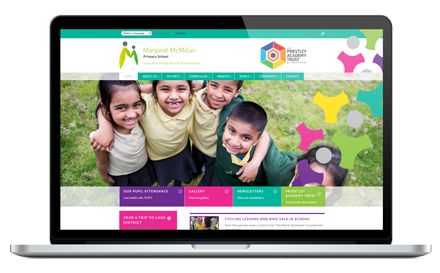 Margaret McMillan Primary School website